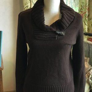 Brown Ralph Lauren sweater and top